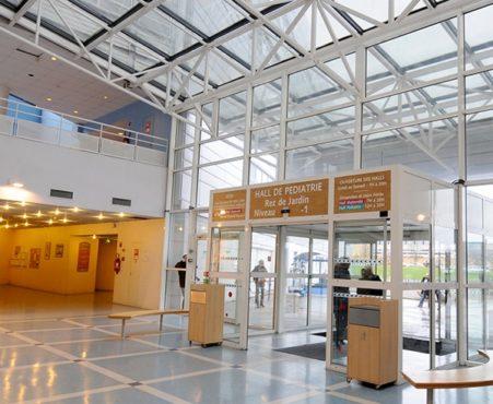 Hôpital Jeanne de Flandre CHU Hall d'entrée