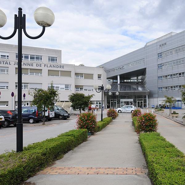Hôpital Jeanne de Flandre CHU