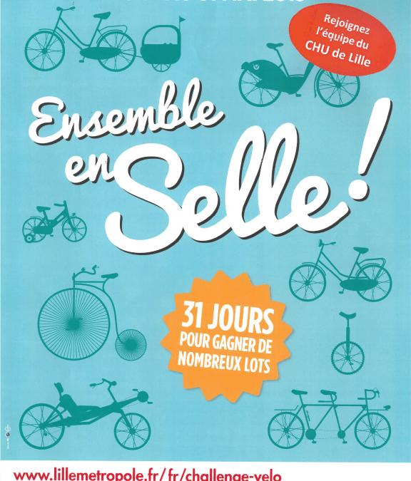 challenge vélo CHU de Lille