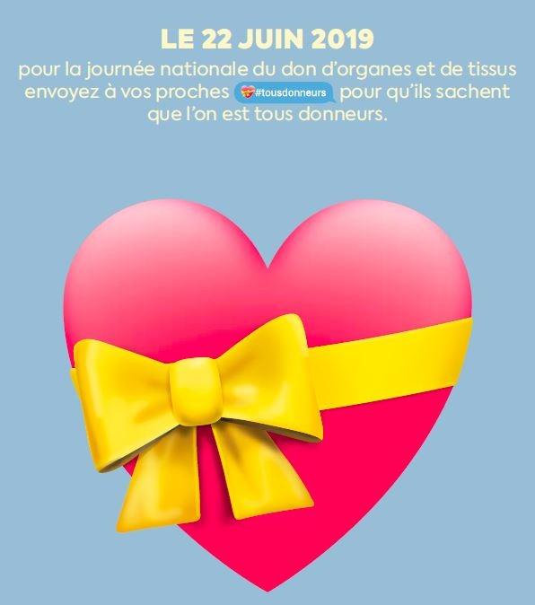 On est tous donneurs d'organes - Journée nationale du don d'organes