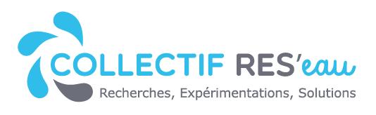 Collectif res'eau logo