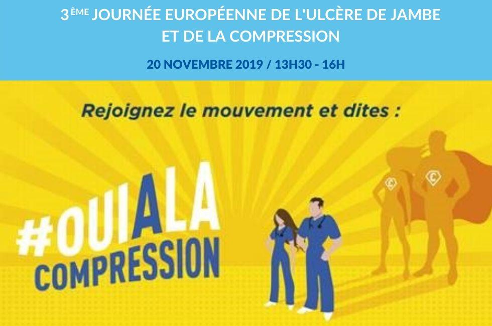 Journée européenne de l'ulcère de jambe et de la compression