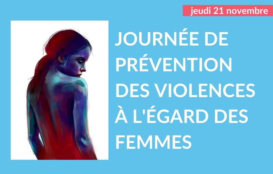 Journée de prévention des violences faites aux femmes 2019