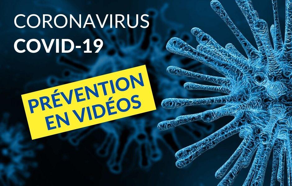 Prévention vidéo coronavirus