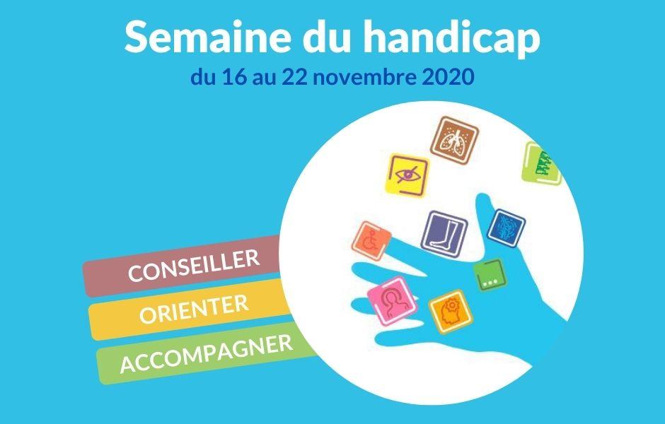 Semaine du Handicap - accompagnement professionnels - CHU Lille