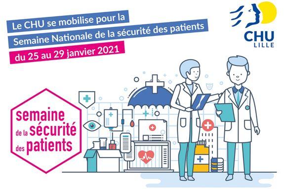 La semaine sécurité patients au CHU de Lille