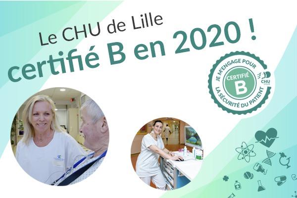 certification B pour le CHU de Lille