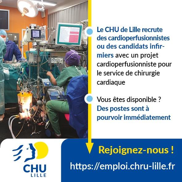 rejoignez le CHU de Lille