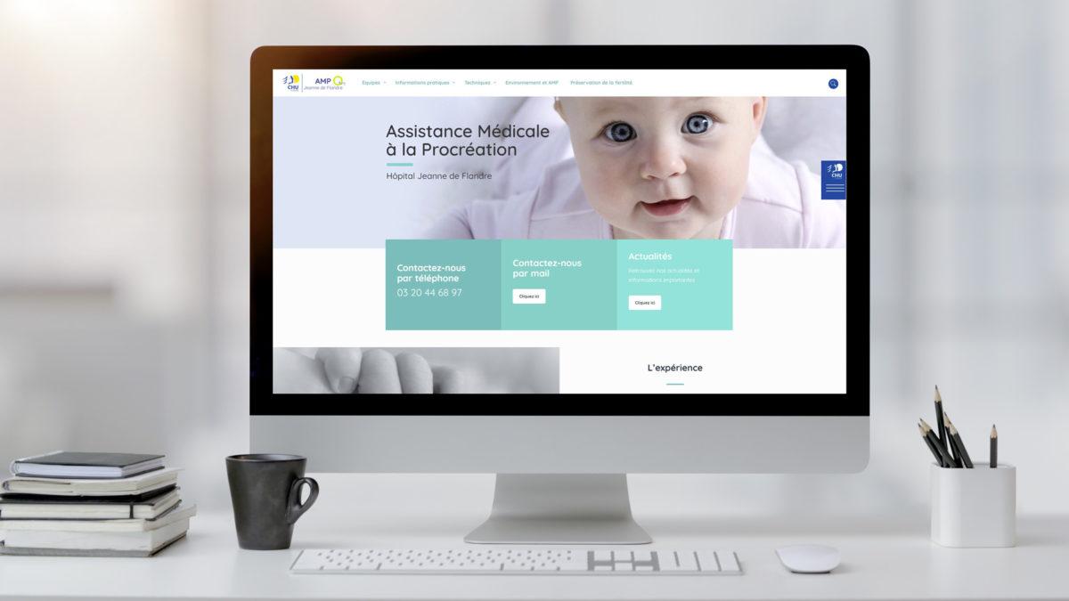 Le nouveau site web de l'assistance médicale à la procréation,n