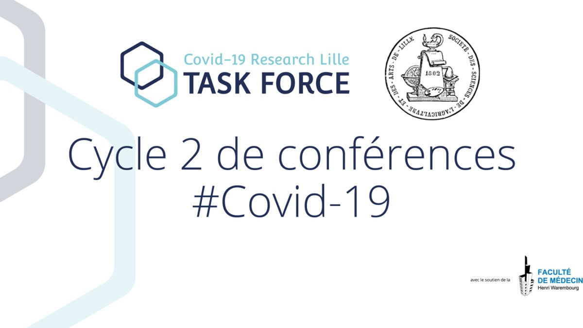 Conférence web Taskforce Research covid Lille