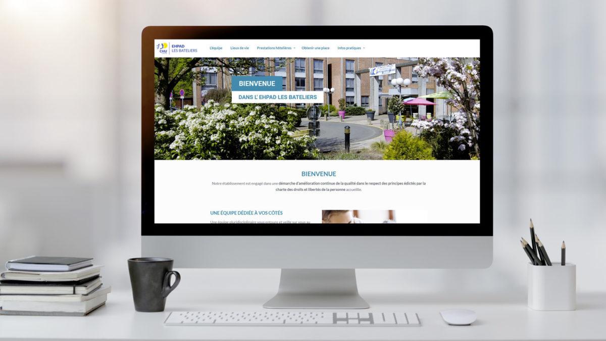 Le nouveau site web de l'EHPAD les Bateliers