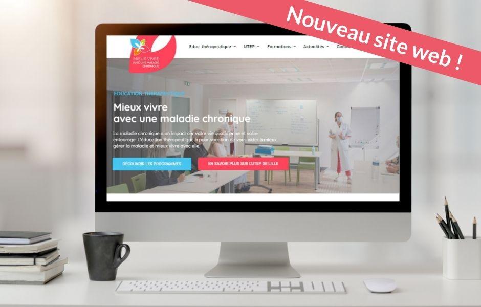 Nouveau site internet de l'UTEP